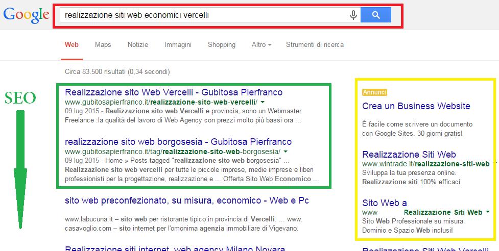 realizzazione siti web economici vercelli
