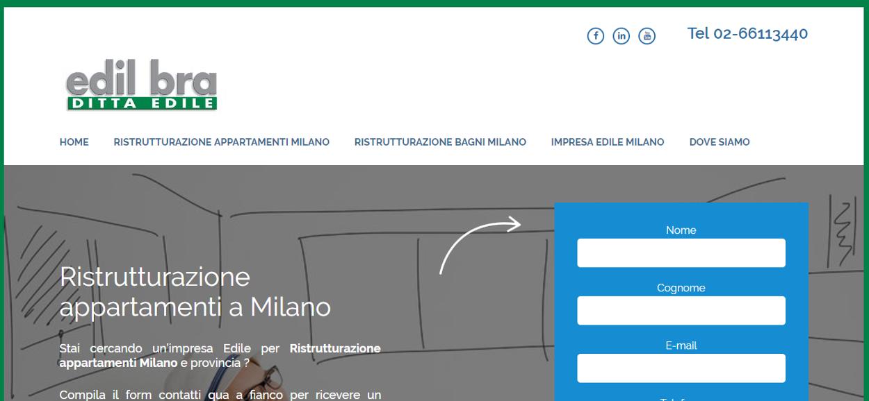 Realizzazione sito web Ristrutturazioneprezzi.it